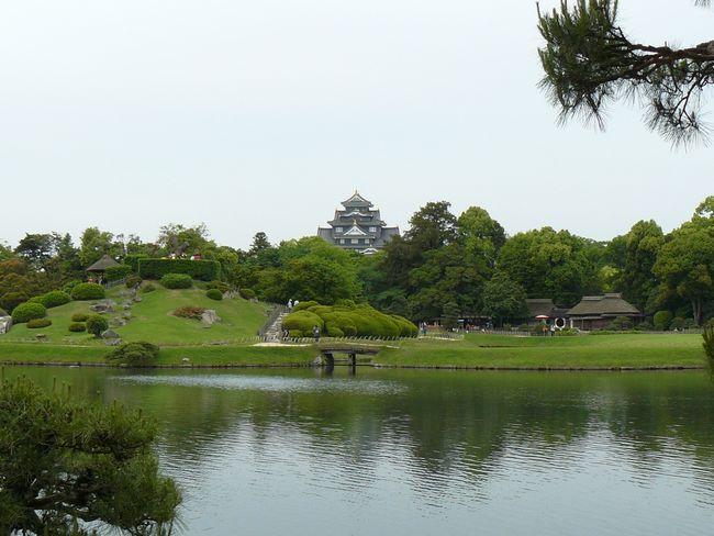 岡山後楽園・沢の池